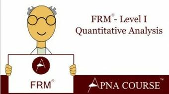 Financial Risk Manager (FRM) Certification - Level 1 - QA course image
