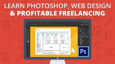 Udemy Learn Photoshop Web Design Profitable Freelancing Student Reviews