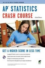 AP® Statistics Crash Course Book + Online course image