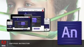 Animación e Interactividad HTML5 con Adobe Edge Animate CC course image