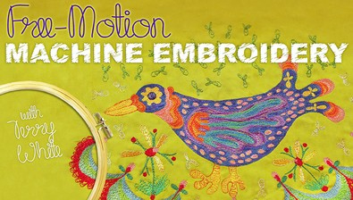 Free-Motion Machine Embroidery  course image