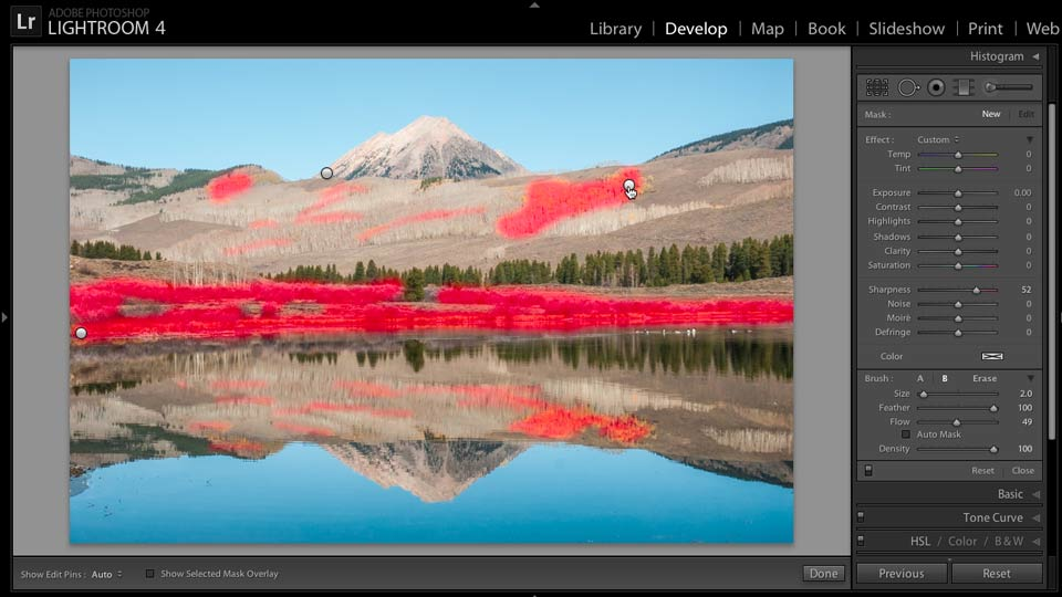 Enhancing a Landscape Photo with Lightroom course image
