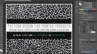 Pattern Design: Creating Repeat Patterns From Your Illustrations & Paintings course image
