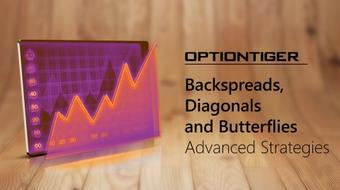 Backspreads, Diagonals and Butterflies - Advanced Strategies course image
