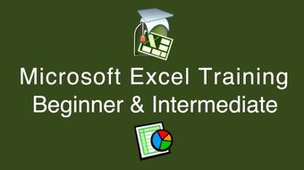 Microsoft Excel Beginner and Intermediate with Certificate course image