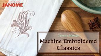 Machine Embroidered Classics course image