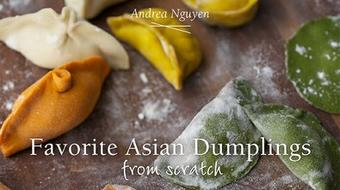 Favorite Asian Dumplings from Scratch course image