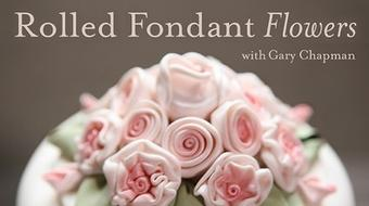 Rolled Fondant Flowers course image