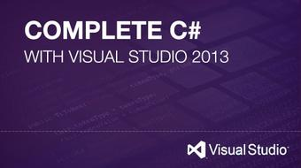 An 16 Hour C# Course With Microsoft Visual Studio 2013 course image