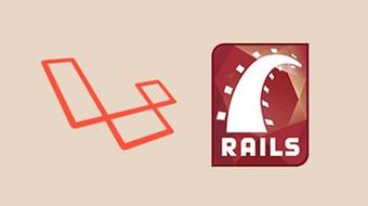 Rails or Laravel: Building an App Twice course image