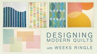 Designing Modern Quilts course image
