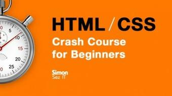 HTML and CSS Crash Course for Beginners course image