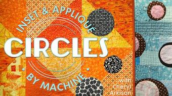 Inset & Appliqué Circles by Machine course image