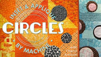 Inset & Appliqué Circles by Machine course image