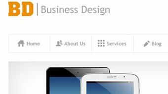 PSD to HTML - Corporate Design Build course image