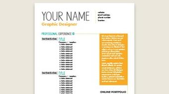 Designing Professional Resumes course image