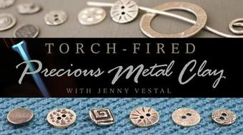 Torch-Fired Precious Metal Clay course image