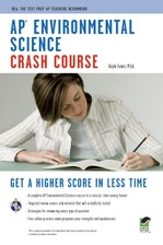 AP® Environmental Science Crash Course Book + Online course image