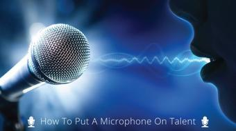 How To Put A Microphone On Talent course image