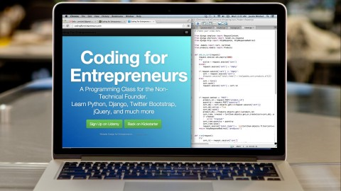Udemy - Coding for Entrepreneurs: Learn Python, Django, and More