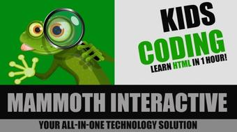 Kids Coding - Beginner HTML course image