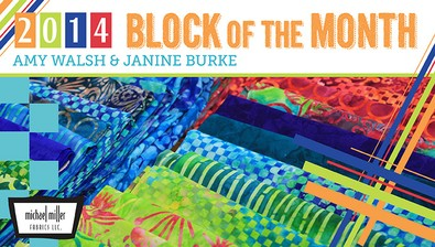 2014 Block of the Month: Craftsy Color Theory course image