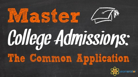 Master College Admissions: The Common Application course image