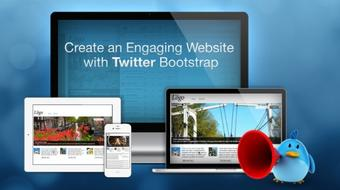 Create an Engaging Website with Twitter Bootstrap 2.x course image
