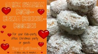 Swabian Coco-Cream Cheese-Cookies - finished in 15 minutes! course image