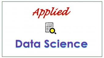 Applied Data Science - 3 : R Programming course image