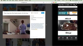 | Increase Your Value | How To Add White Borders AND Text To An Instagram Video | course image