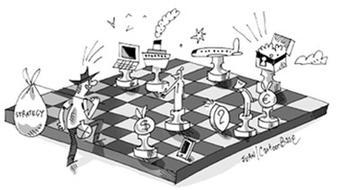 Les fondements de la stratégie d'entreprise course image
