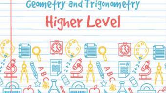 Junior Certificate Strand 2 - Higher Level - Geometry and Trigonometry course image