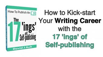 How to Kick-start Your Writing Career with the 17 'ings' of Self-publishing course image