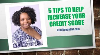 Credit: 5 Tips to Help Increase Your Credit Score course image