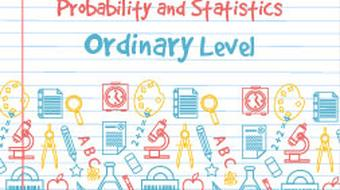 Strand 1 Ordinary Level Probability and Statistics course image