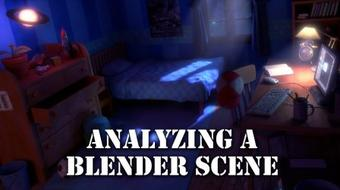 Analyzing a 3D Scene in Blender course image