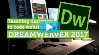 Your first HTML & CSS web page - Dreamweaver CC 2017 course image