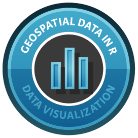 Working with Geospatial Data in R course image