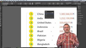 InDesign: Tips for Customising Perfect Lists course image