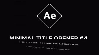 Create a minimal Kinetic Typography title animation in After Effects course image