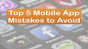 Top 5 Mobile App Mistakes to Avoid: Improve Your App User Experience (UX) course image