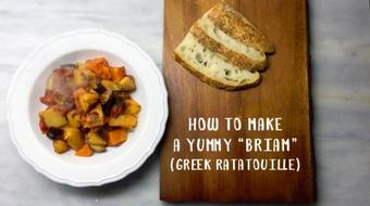 "How to make a yummy ""briam"" - (greek ratatouille) course image"
