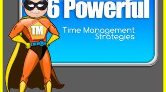 Easy Time Management for Busy People- Supercharge Your Productivity In 6 Easy Steps course image