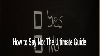 Easy Guide: How to Say No to Unwanted Requests. course image
