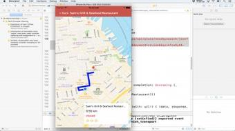 Build a Restaurants App with the Google Maps API & Swift3 course image