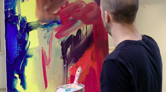 In the Studio: Postwar Abstract Painting course image