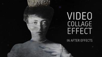 Video collage in after effects using track mattes and vector masks course image