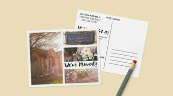 Intro to InDesign: DIY Photo Announcement Postcard course image