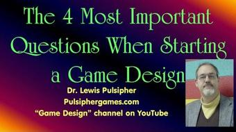 Game Design 110: What You Need to Know when Starting a New Game Design course image
